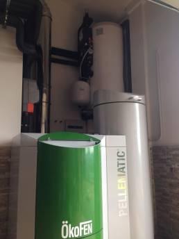 caldera pellets para radiadores