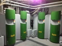 calefacción con energía renovable
