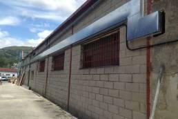 calefacción gimnasio