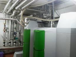 instalación calefacción en edificio