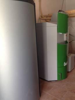 instalación calefacción en gimnasio