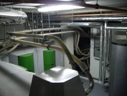 sala de calderas edificio
