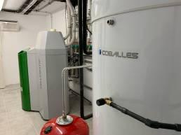 instalación calefacción vaso expansión