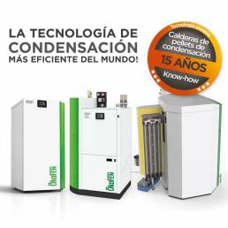 tecnología de condensación